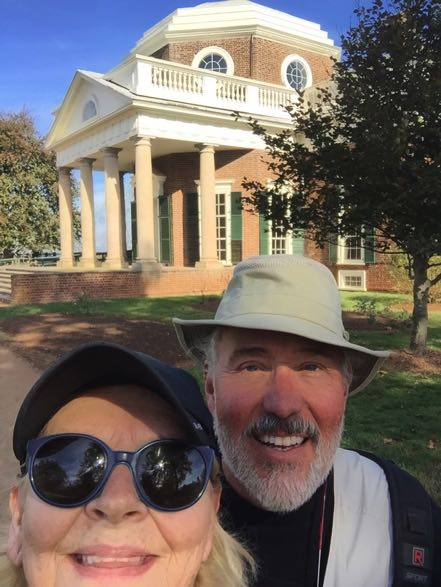 Janny and Alex at Monticello