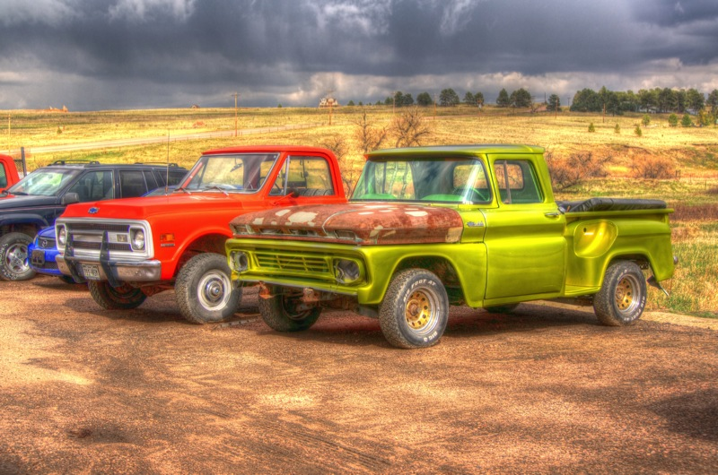 Old Truck Photography Old trucks from our hunt,
